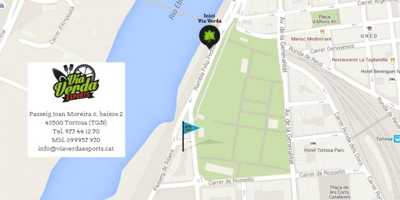 Localització Via Verda