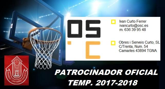 Patrocinador 1 Temp. 2017-2018 -Obres i Serveis Curto-