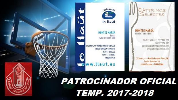 Patrocinador 1 Temp. 2017-2018 -Rest. LLaut-