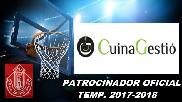 Patrocinador Temp. 2017-2018 -Cuina Gestió-
