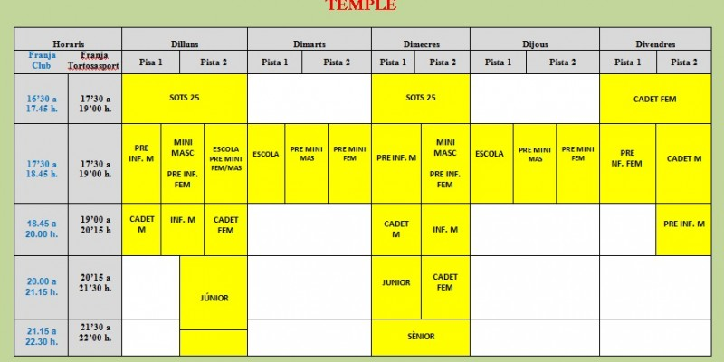 Horaris Temple -Rev 1-