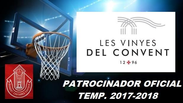 Patrocinador 1 Temp. 2017-2018 -Les Vinyes del Convent-