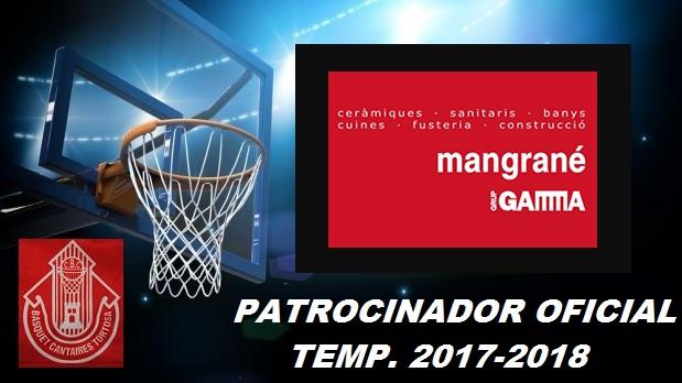 Patrocinador Temp. 2017-2018 Materials Mangrané